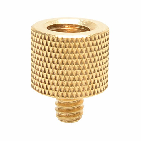 "Foto&Tech Brass 3/8""-16 F - 1/4""-20 M Tripod Thread Screw Adapter"