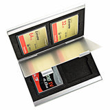 Foto&Tech 4-Slot Memory Card Case for Flash Card Lexar SanDIsk Kingston Sony
