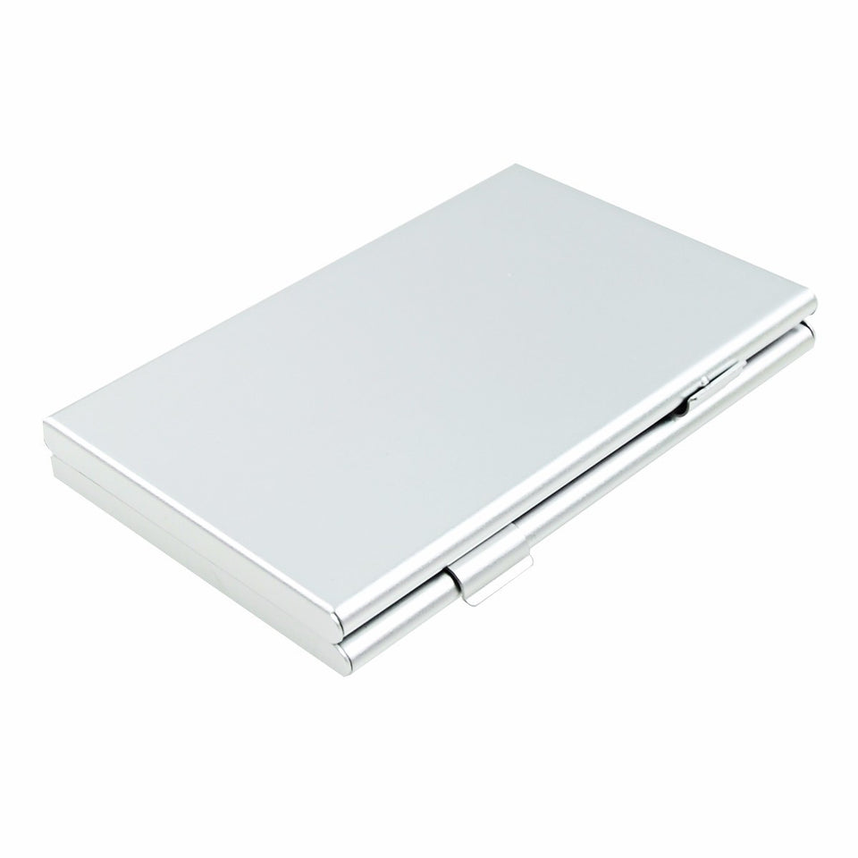 Foto&Tech Silver Memory Card Case-Lexar SanDIsk Kingston Sony