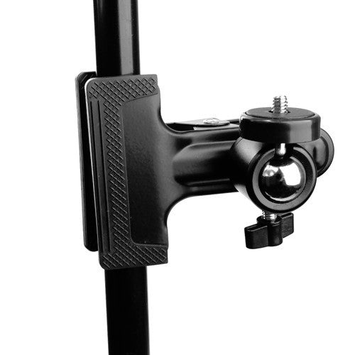 "Foto&Tech Spring Clamp Holder Mount With 1/4"" Screw 360 Ball Head"