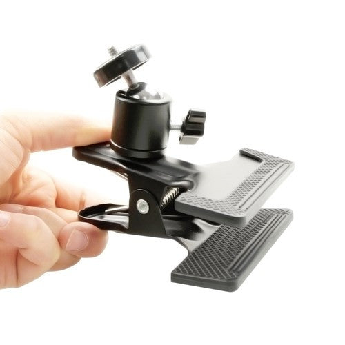 "Foto&Tech Spring Clamp Holder With 1/4"" Screw Mini Ball Head"