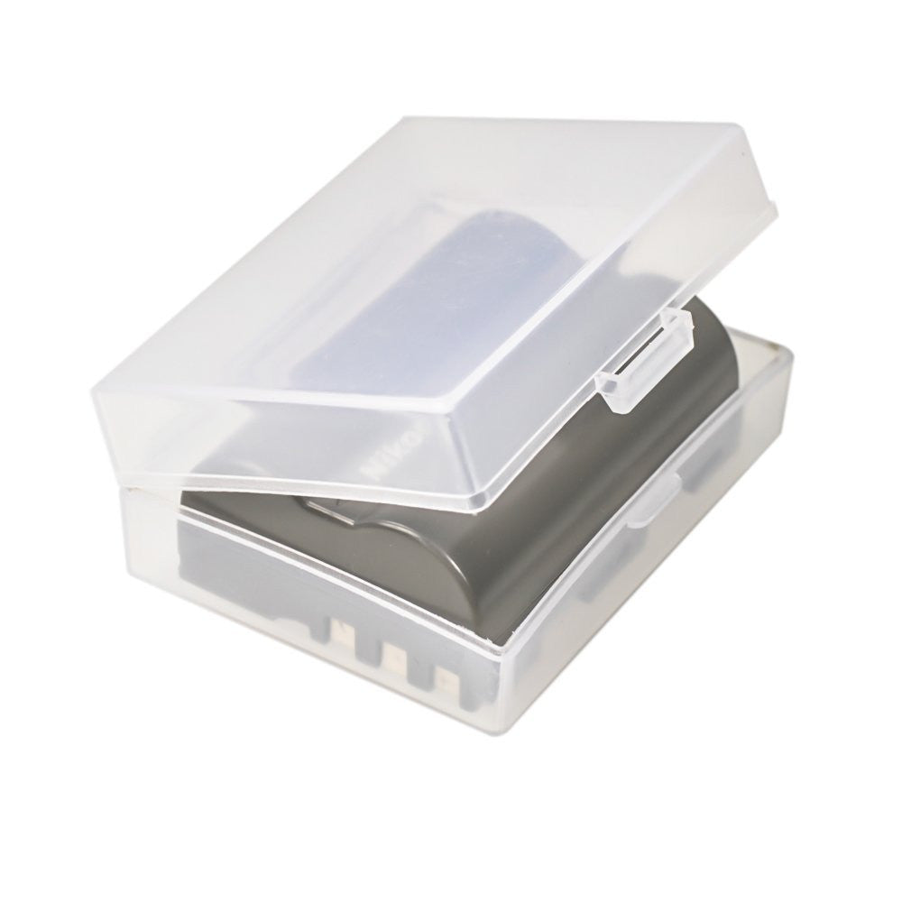Foto&Tech Clear Medium Li-Ion/AA/AAA/9V Battery Storage Case