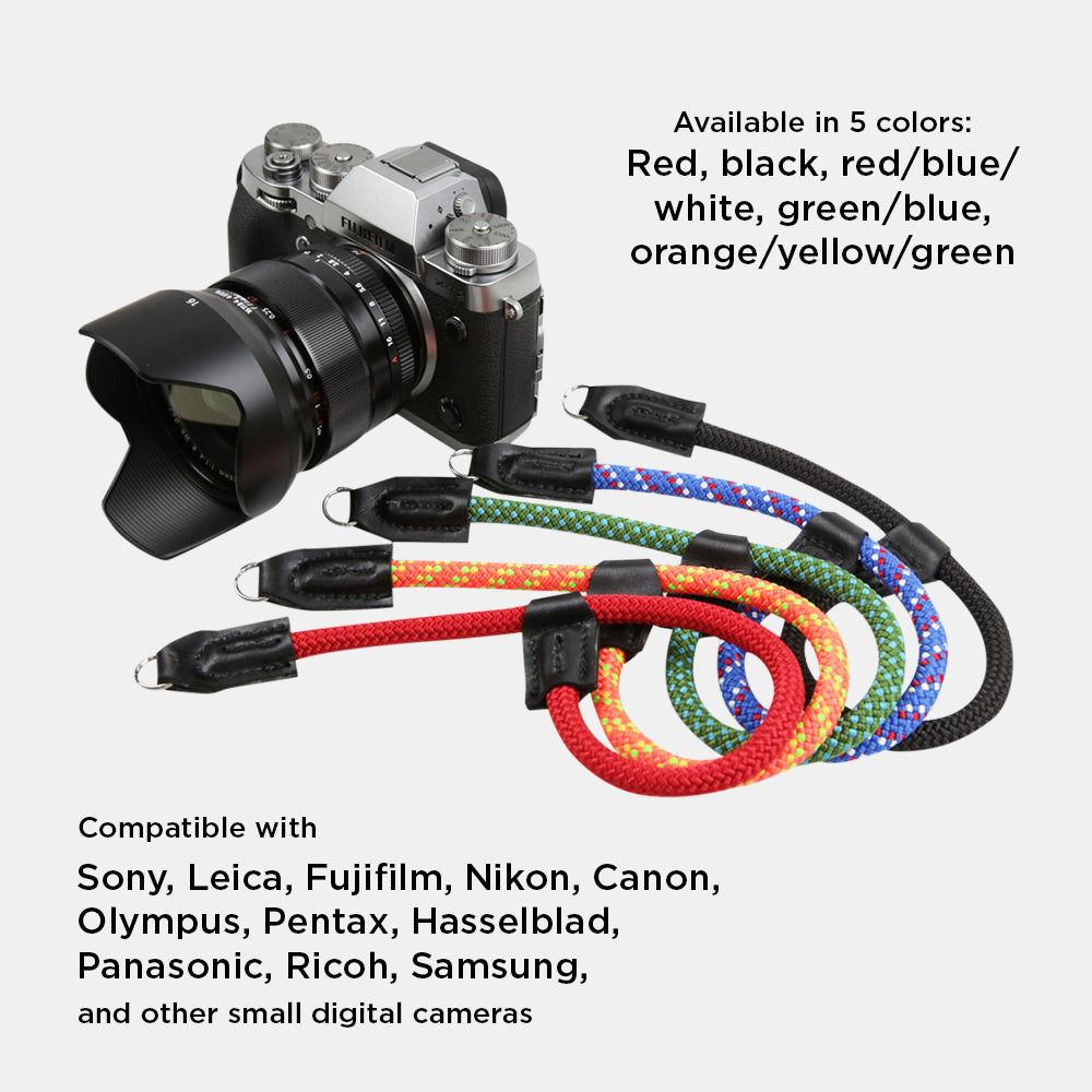 Climbing Rope Camera Wrist Strap for Fujifilm