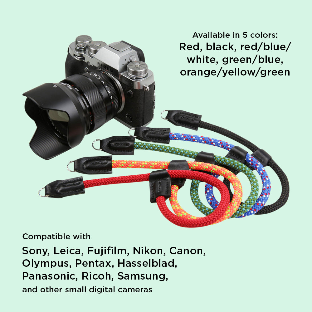 Rope Camera Wrist Strap Compatible with Fujifilm
