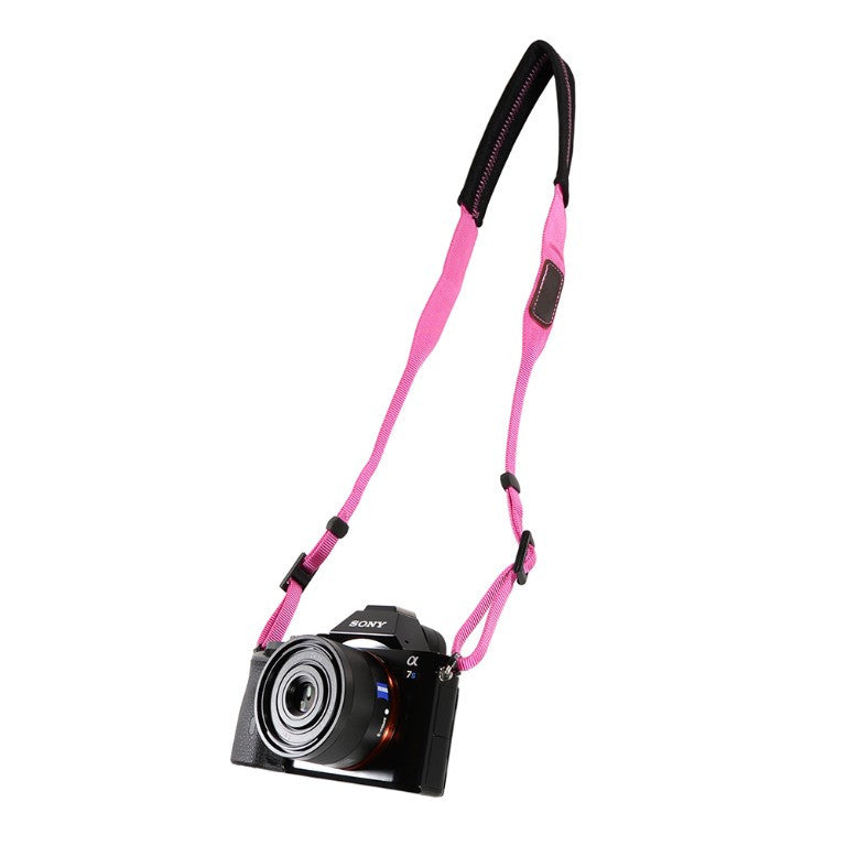 Foto&Tech Padded Neck Strap Hot Pink
