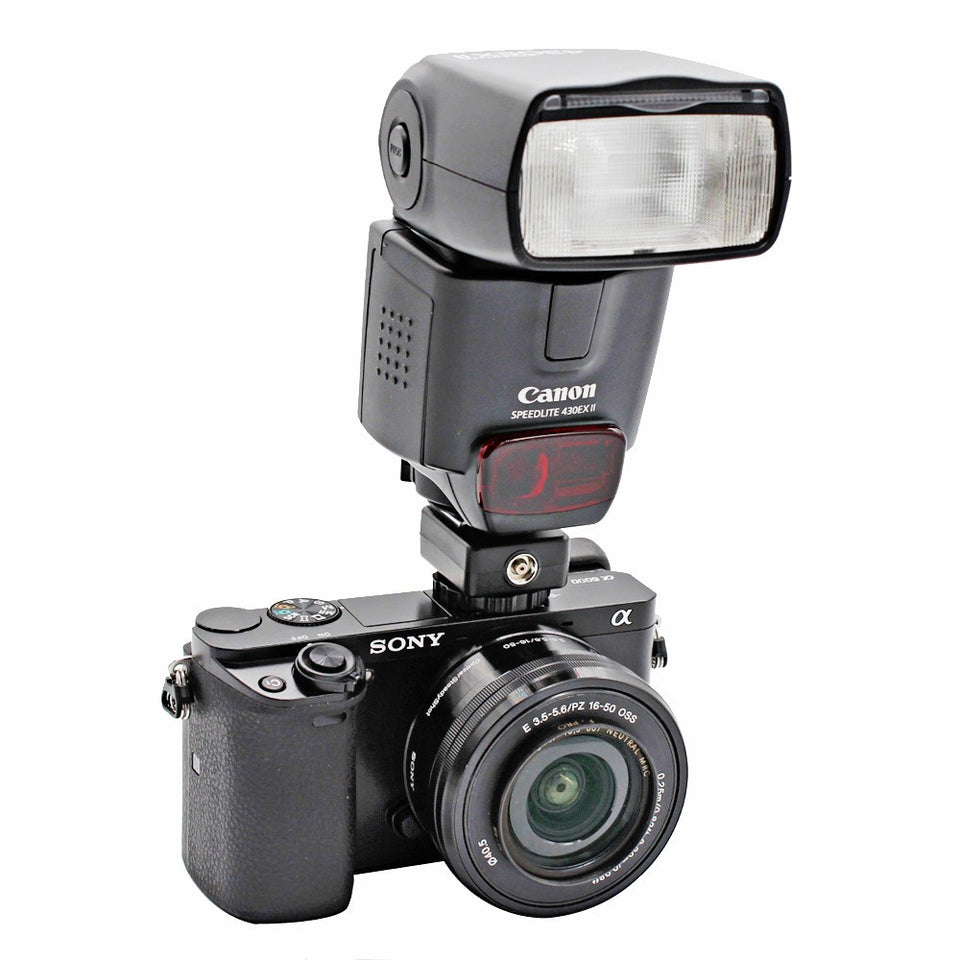 Foto&Tech Flash Hot Shoe Adapter Convert Sony Camera to Canon Speedlite