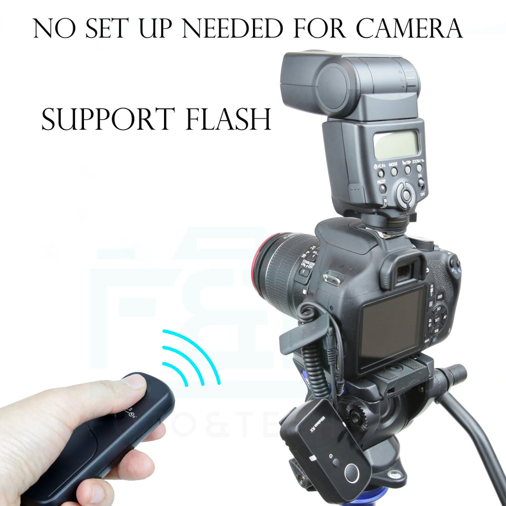 Wireless Remote Control Compatible with Nikon