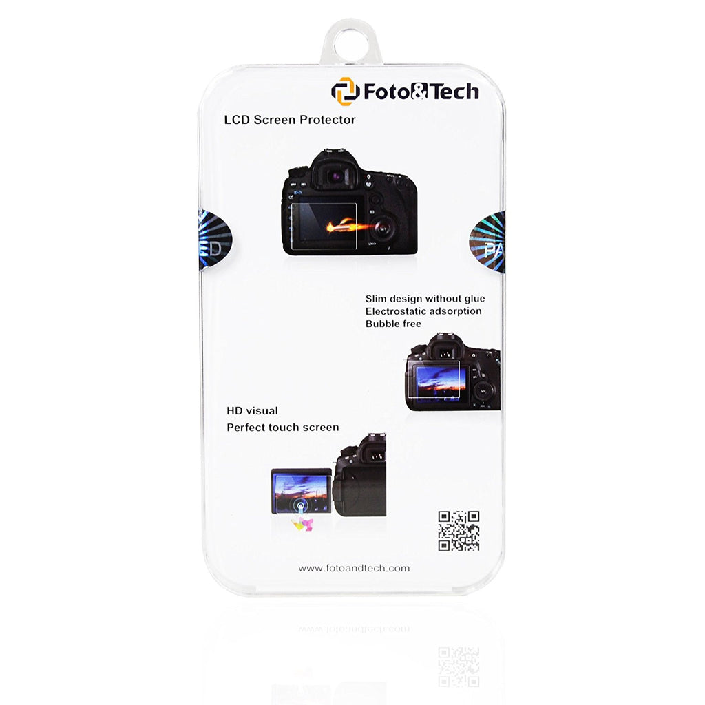 Foto&Tech LCD Screen Protector Packaging