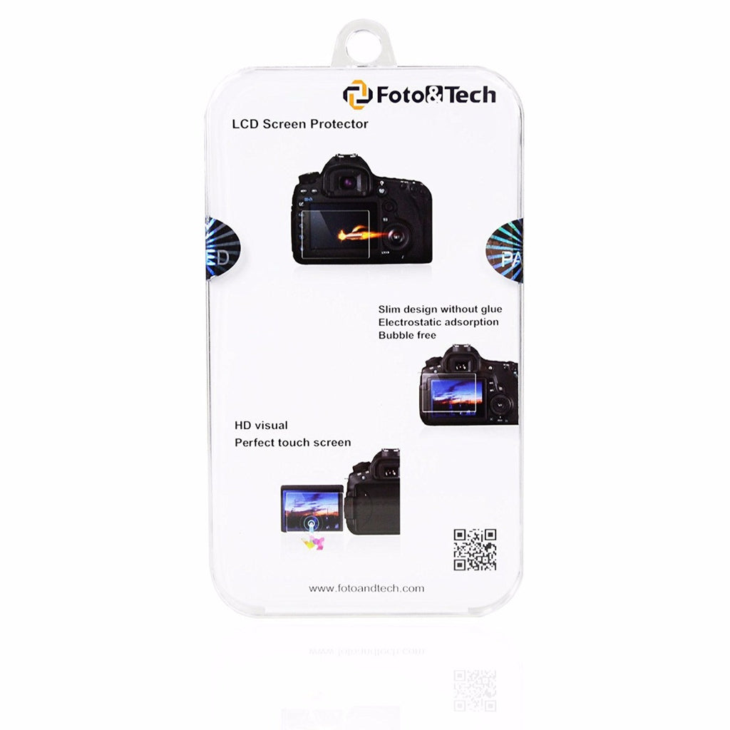 Foto&Tech LCD Screen Protector Packaging Bag