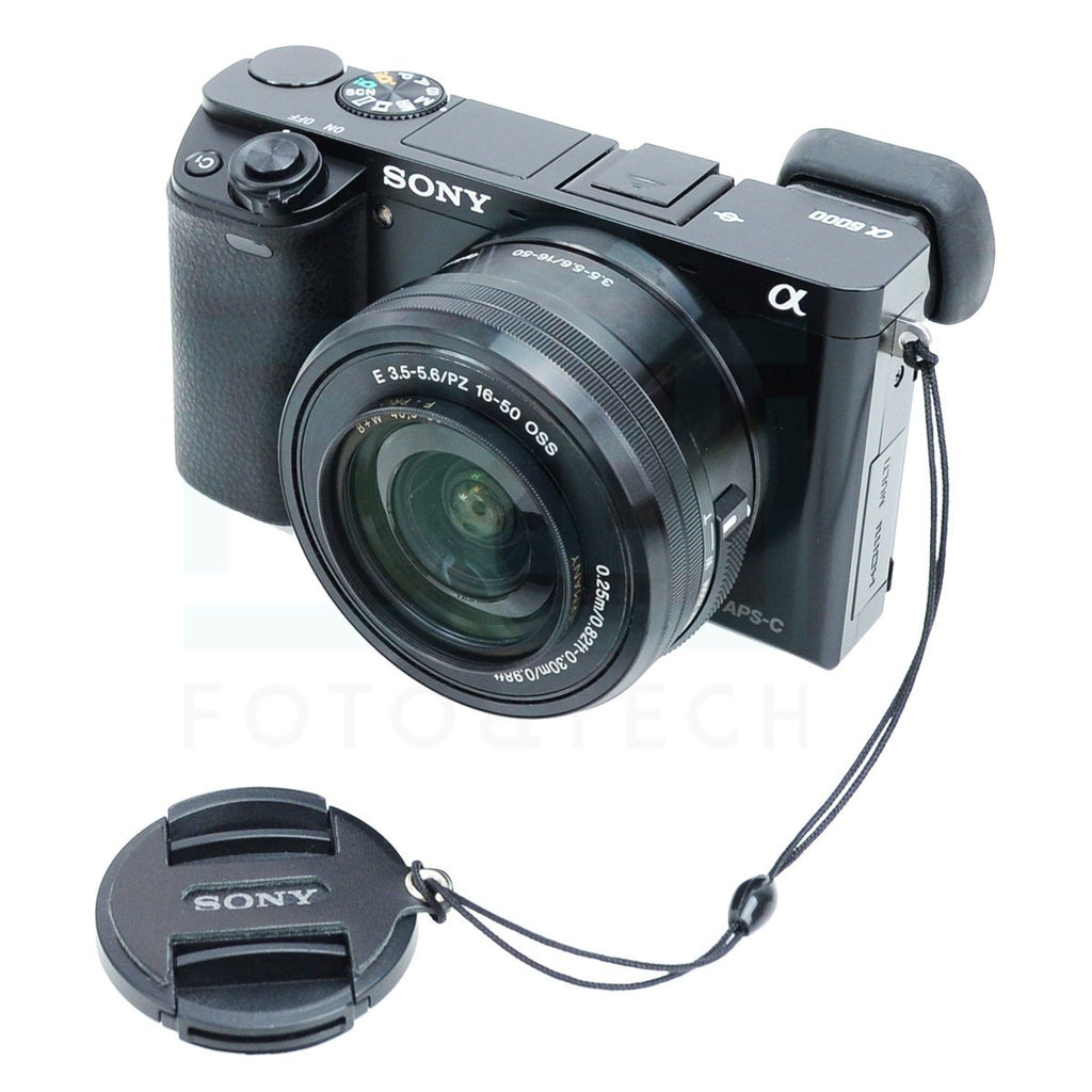 2PC Leather Lens Cap Compatible with Sony