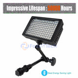 Foto&Tech Dimmable 160 LED Panel Video Light Lifespan