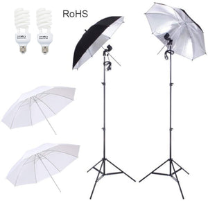 "Photography 33"" Umbrella Studio Lighting Kit"