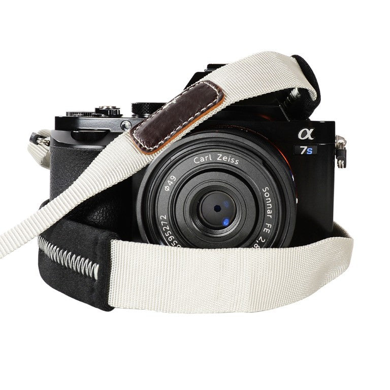 Foto&Tech Padded Camera Strap Gray