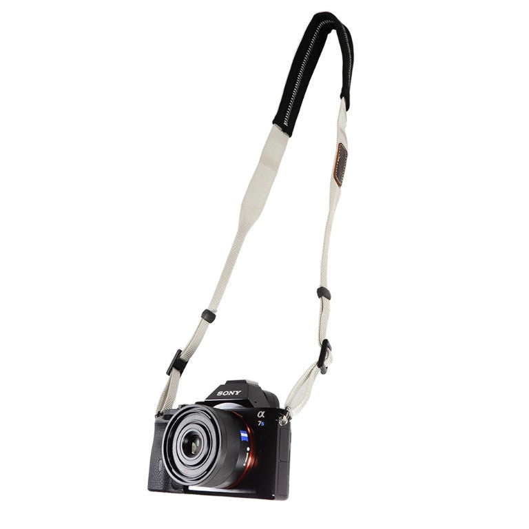 Foto&Tech Padded Camera Neck Strap Gray