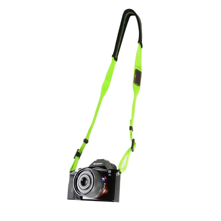 Foto&Tech St Patrick's Day Padded Camera Neck Strap Green
