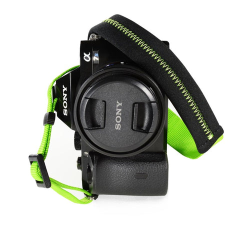 Foto&Tech St Patrick's Day Padded Camera Strap Green