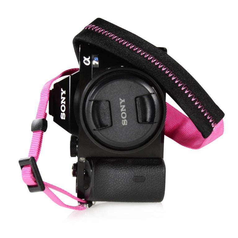 Foto&Tech Padded Camera Strap Hot Pink