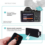Wireless Remote Control Compatible with Sony Cameras