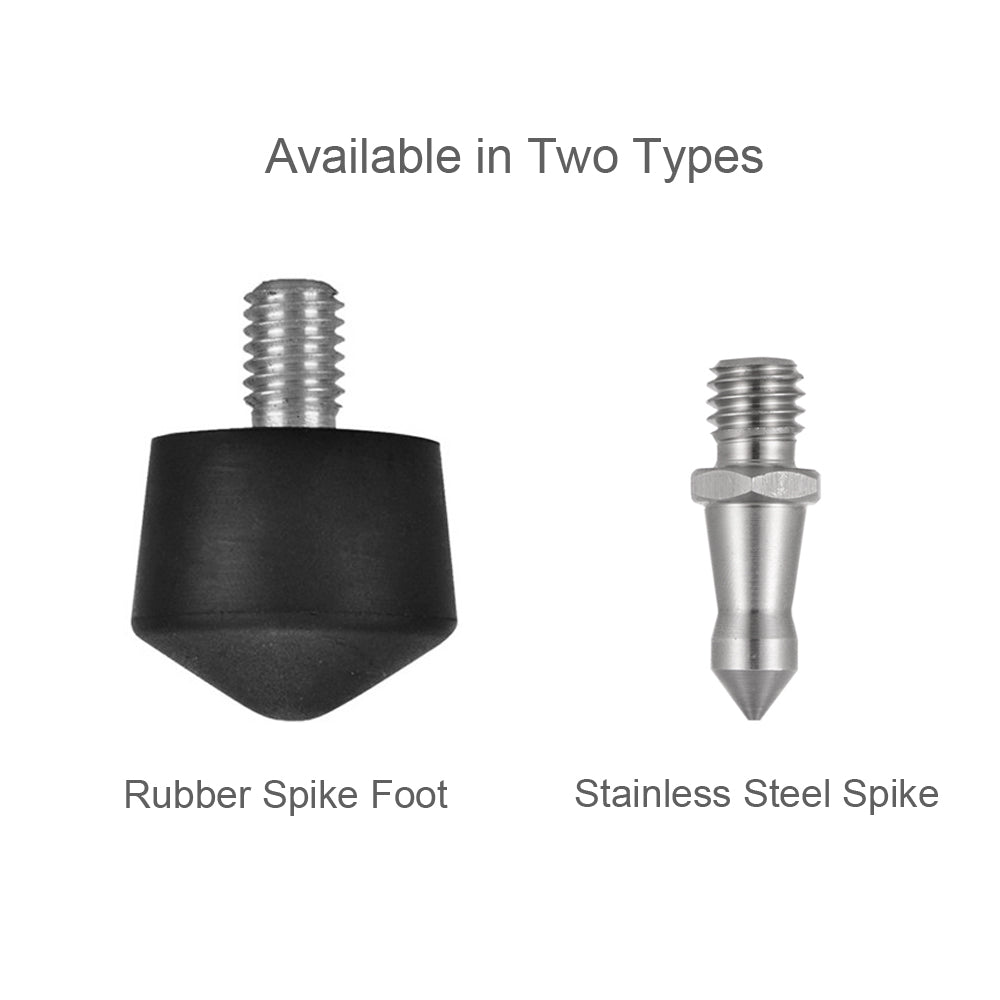 "Stainless Steel 3/8"" Foot Spikes (3 PCS)"