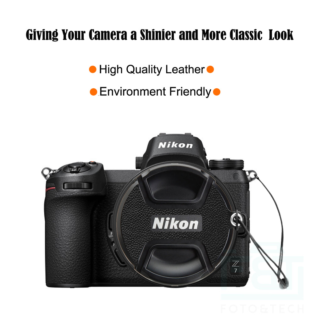 2 Pack 52mm Lens Cap Compatible with Nikon
