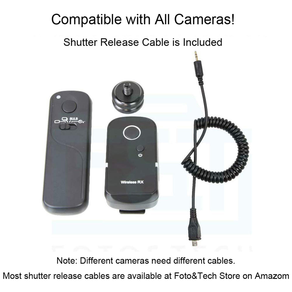 Wireless Remote Working 100M Compatible with Fujifilm