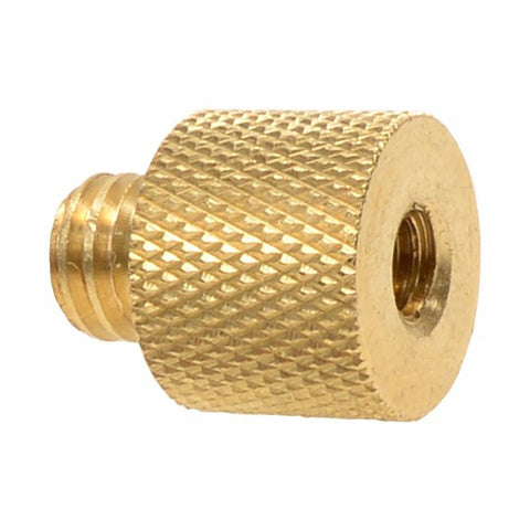 "Foto&Tech Brass 1/4""-20 F- 3/8""-16 M Threaded Tripod Thread Reducer"