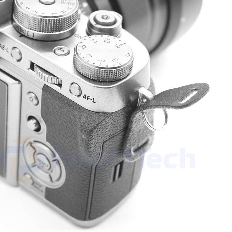 Foto&Tech Leather Pad+Camera Strap Round Split Ring