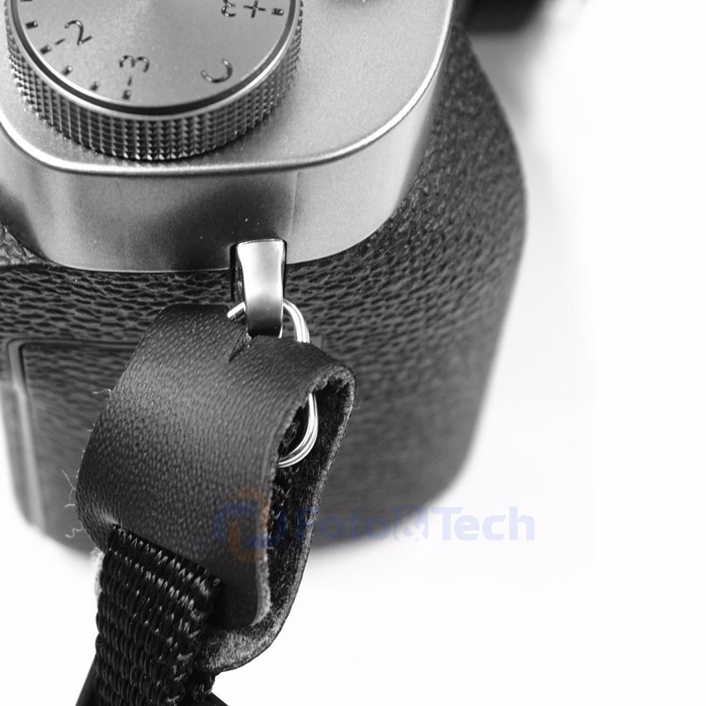 Foto&Tech Leather Protection Cover+Camera Strap Triangle Lug Ring
