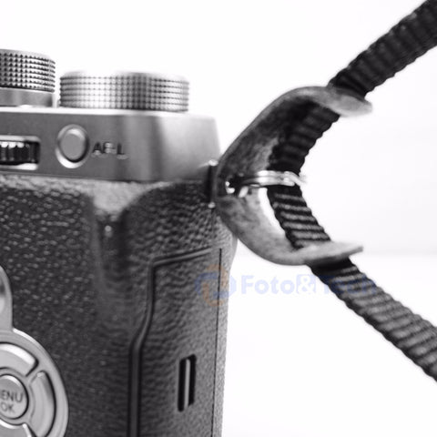 Foto&Tech Leather Protection Pad+Camera Strap Triangle Lug Ring Set