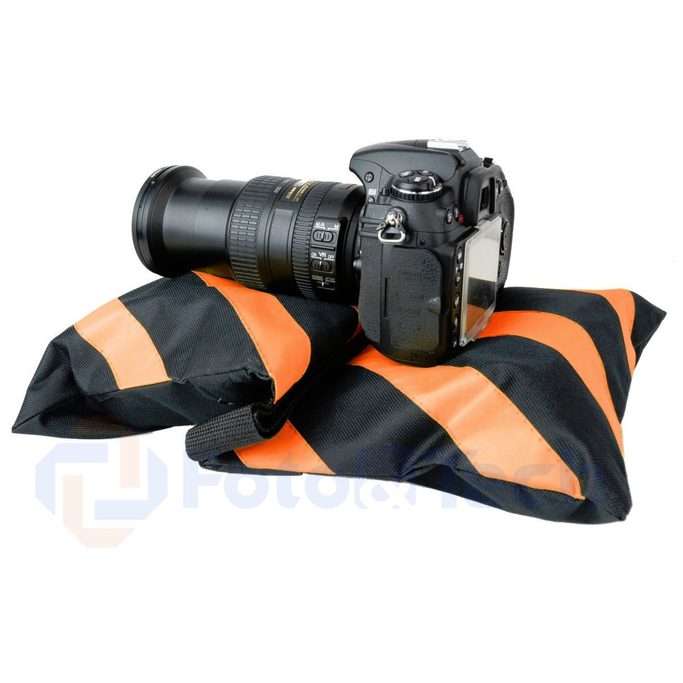 Foto&Tech Orange Sandbag Photo Video