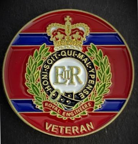 Royal Electrical Mechanical Engineersl Veteran lapel pin badge .