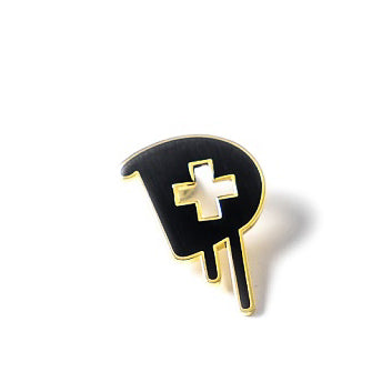 Medic Pin in Black