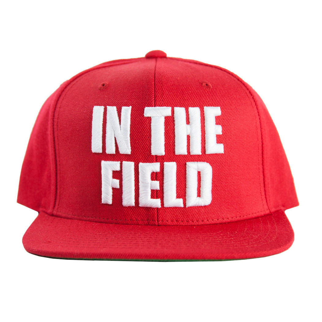 Red In The Field Snapback