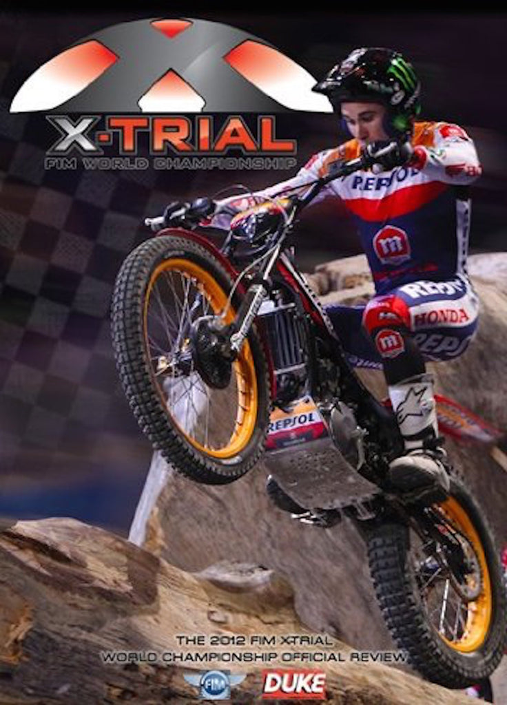 2012 FIM World X Trials Review NTSC DVD