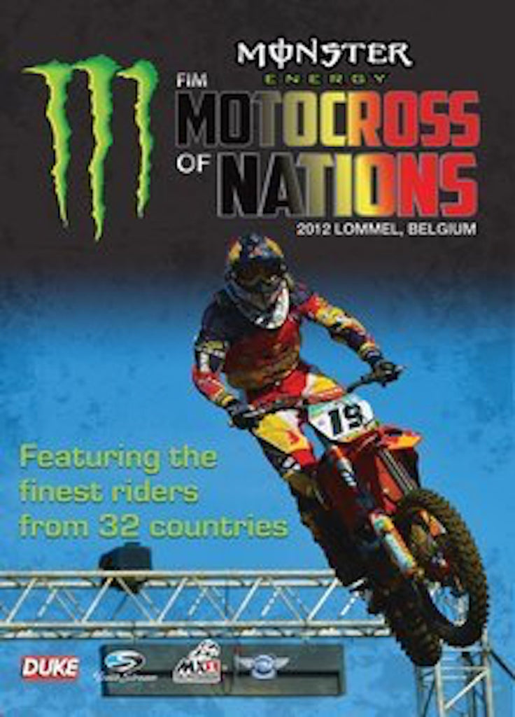 2012 Motocross of Nations DVD