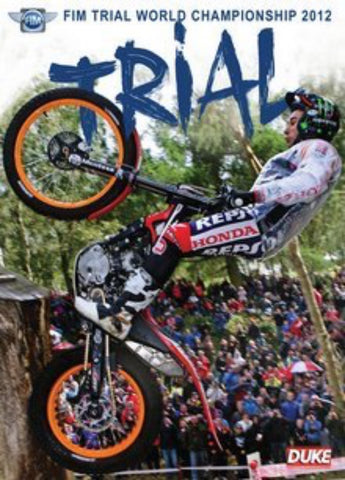 2012 FIM World Trial Championship DVD
