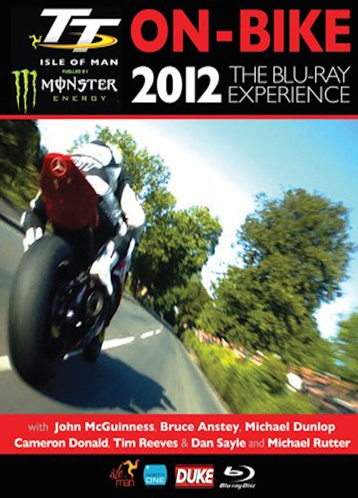 2012 TT Isle of Man On Bike Experience Blu-Ray