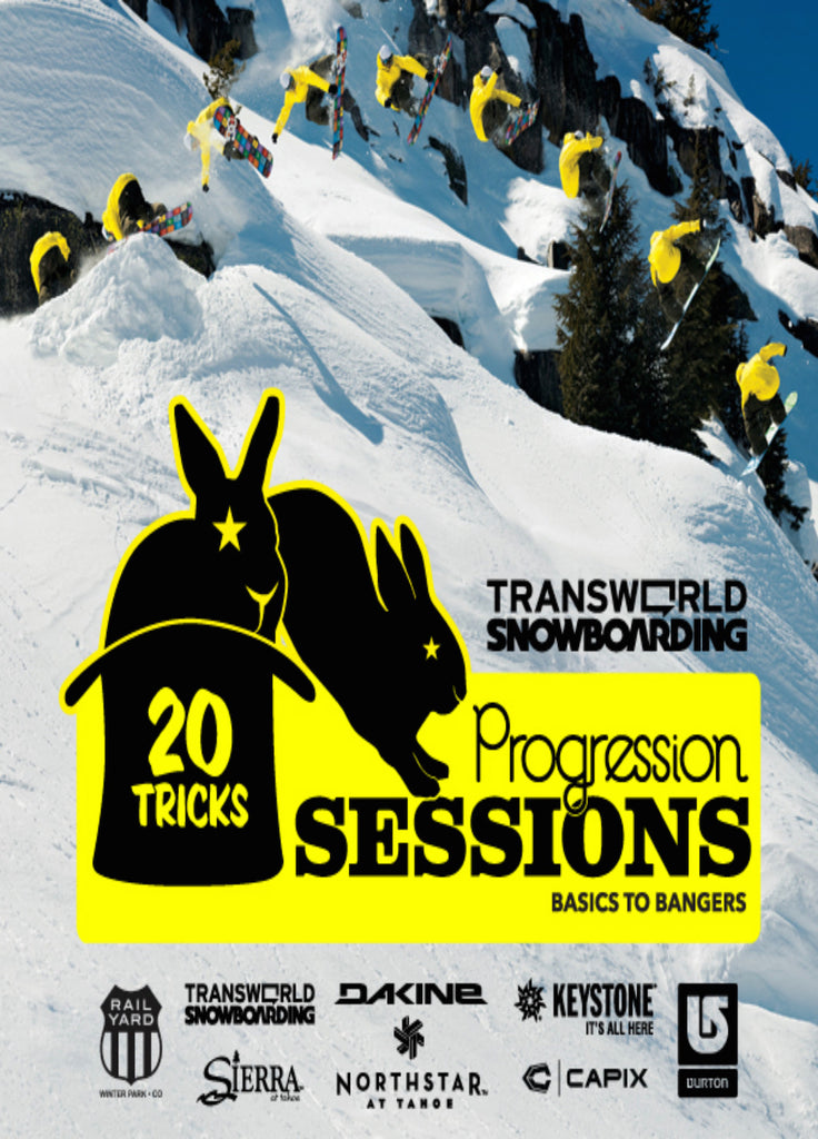 20 Tricks Volume 3 - Progression Sessions Snowboard DVD