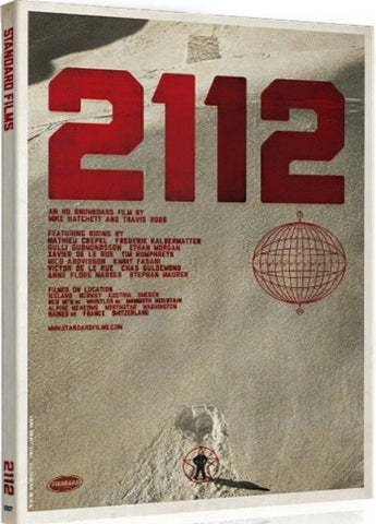 2112 Snowboard DVD or Blu-ray