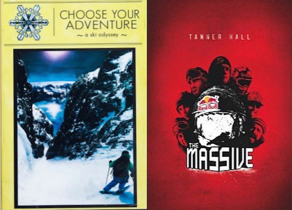 Choose Your Adventure with Massive DVD+Book - Ski 2-pack