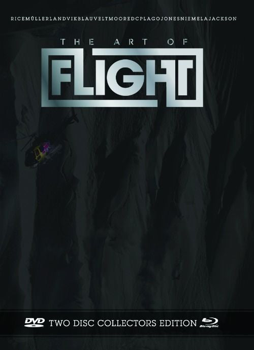 The Art of Flight Snowboard DVD/Blu Ray/Digital Download - Collector's Edition