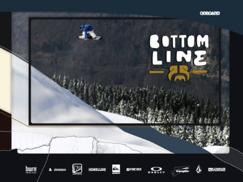 Bottom Line Snowboard DVD and Book