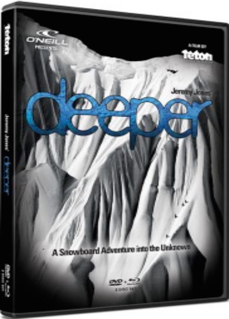 Jeremy Jones Deeper DVD and Blu-ray Combo