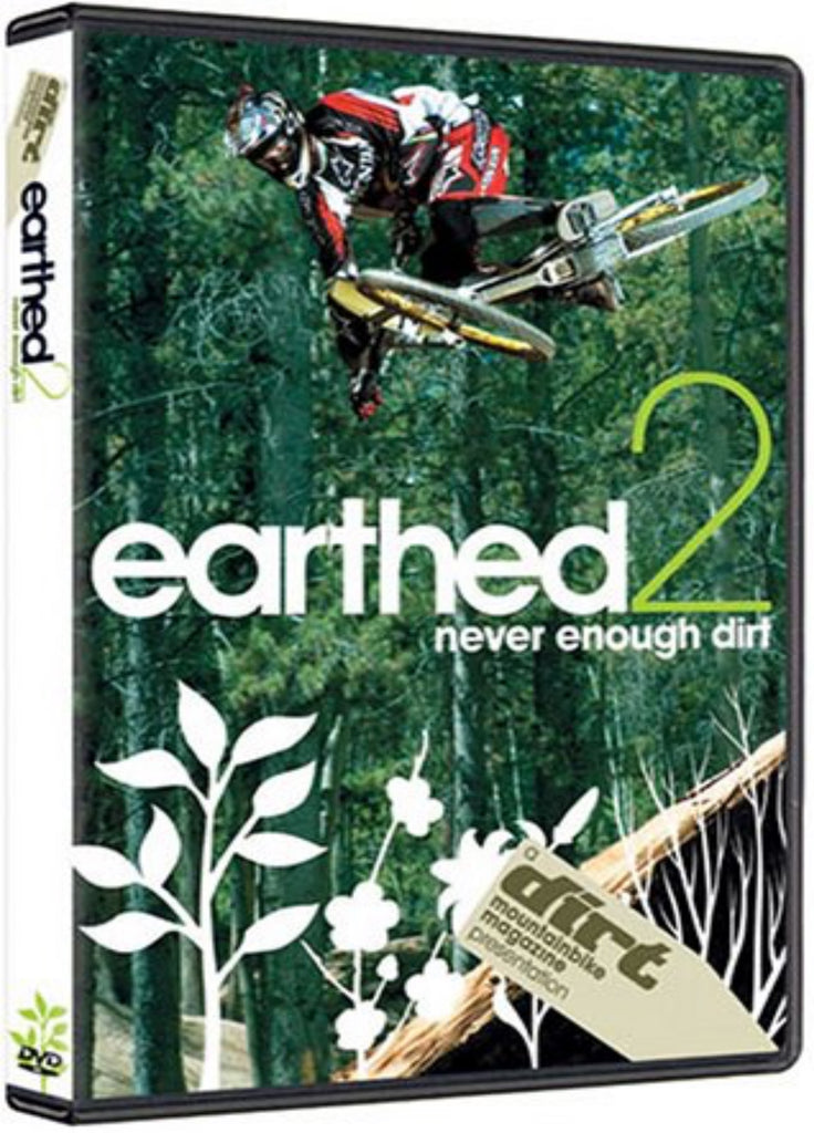 Earthed 2 Mountain Bike DVD - Never Enough Dirt