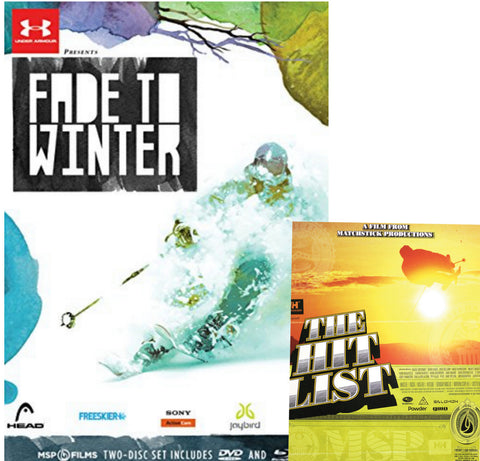 Fade to Winter DVD & Blu Ray with FREE Hit List DVD