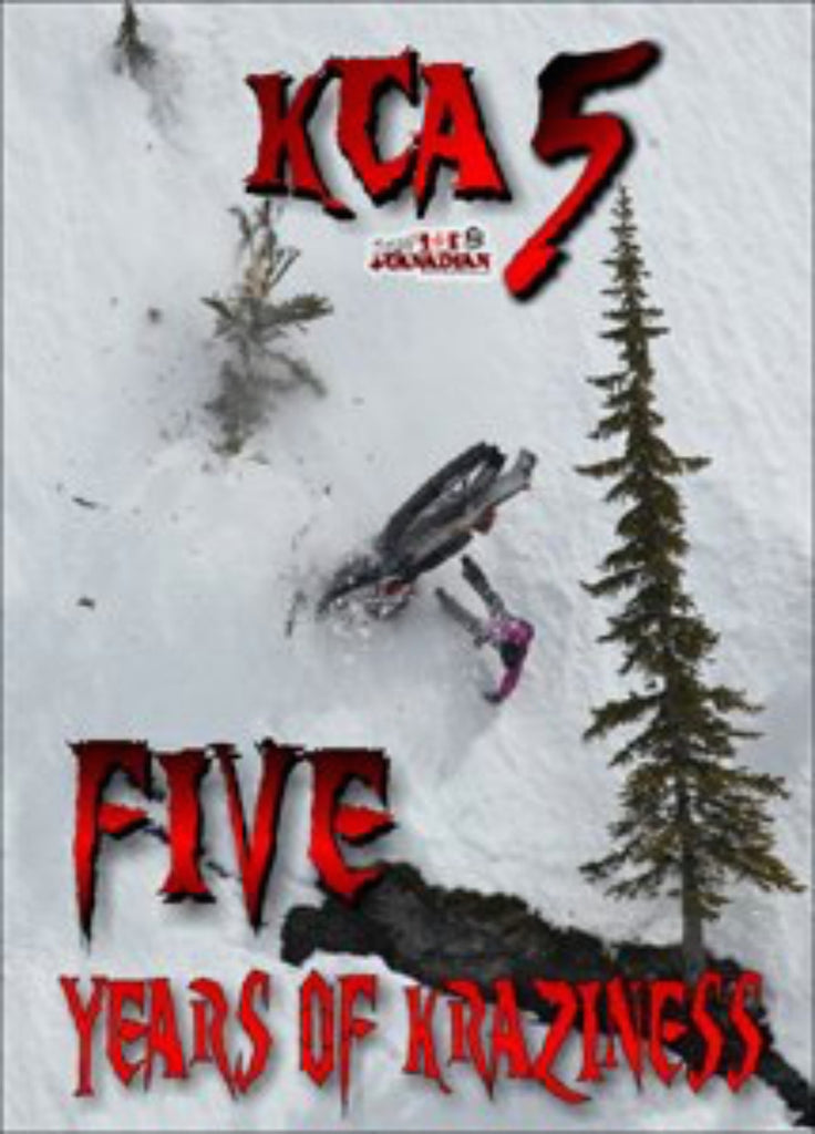 Krazy Canadian Adventures 5 Snowmobile DVD
