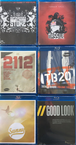 Lot of 6 Ski/Snowboard Blu-Ray