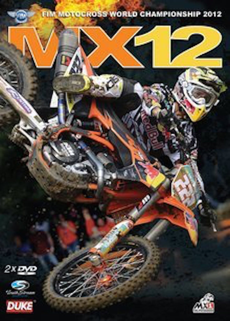 2012 FIM World Motocross Review 2-DVD set