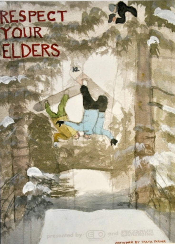 Respect Your Elders Snowboard DVD