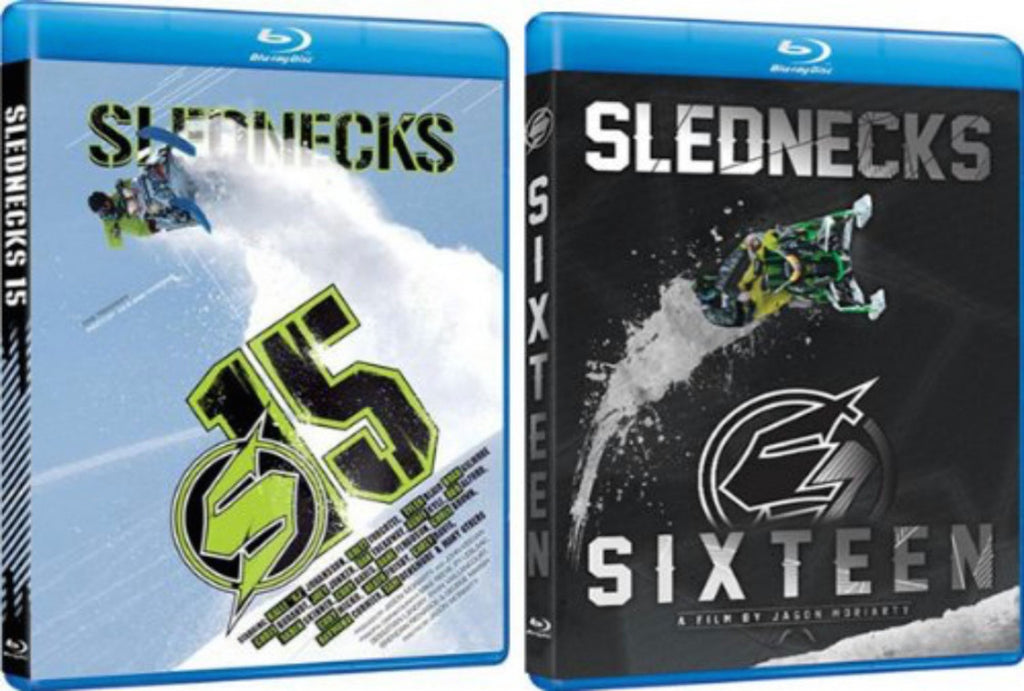 Slednecks 15 and 16 DVD or Blu-ray